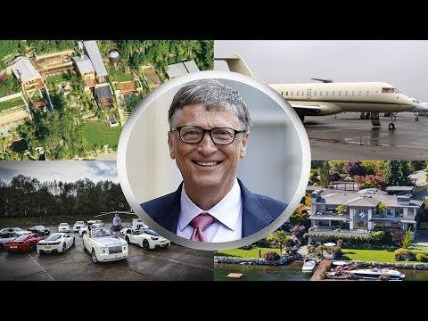 Bill Gates Biography House Cars Family Net Worth 2018 Youtube With Images