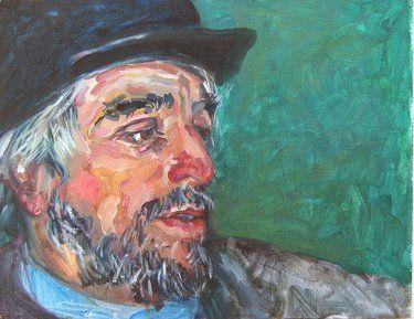 Saatchi Online Artist Andrea Araneda; Painting, Gesell. Pirquinero. Tierra del Fuego #art