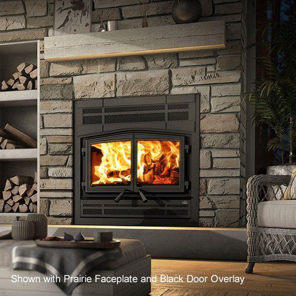 Osburn Stratford Ii Zero Clearance Wood Stove Fireplace Wood Stove Fireplace Fireplace Wood Burning Fireplace Inserts