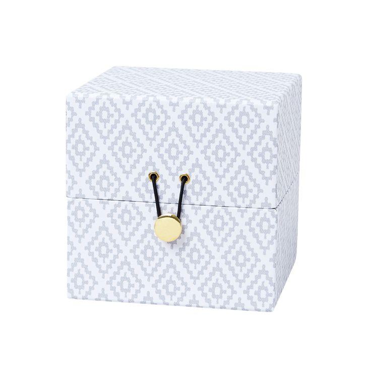 Förvaringsbox Cancun, 15x15x15 cm, Linne - Heminredning - Hemtextil - Hemtex