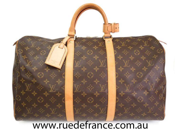 Louis Vuitton overnight bag / travel bag