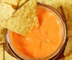 Käse-Dip für Nachos