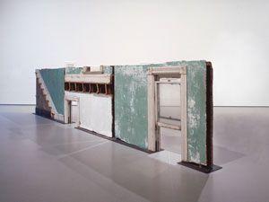 Gordon Matta-Clark's building fragments