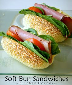 Kitchen Corner : Soft Sandwich Buns (Tang Zhong Method)