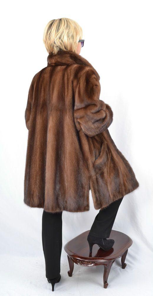 K200 Nerzjacke Nerz Pelz Jacke Pelzjacke Fur Mink Jacket Kurtka Futra Norek XL in Clothes, Shoes & Accessories, Women's Clothing, Coats & Jackets   eBay