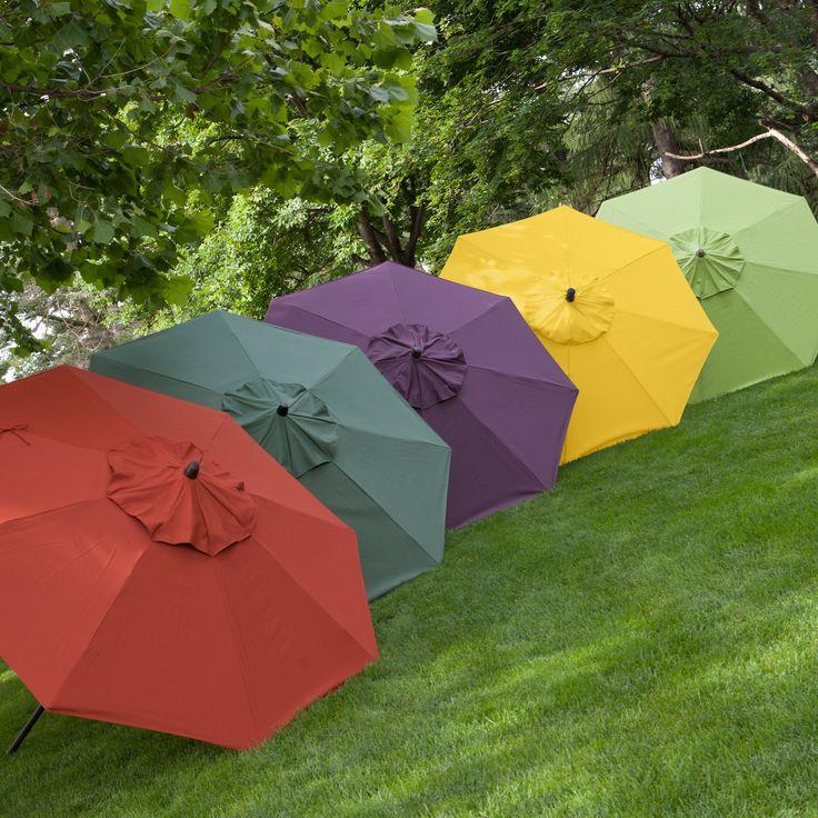 Have to have it. Coral Coast 9-ft. Deluxe Collar Tilt Wind Resistant Patio Umbrella - $110.01 @hayneedle
