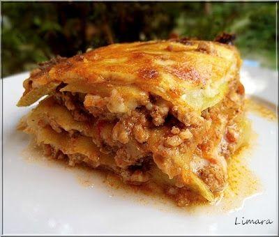 Limara péksége: Cukkini lasagne