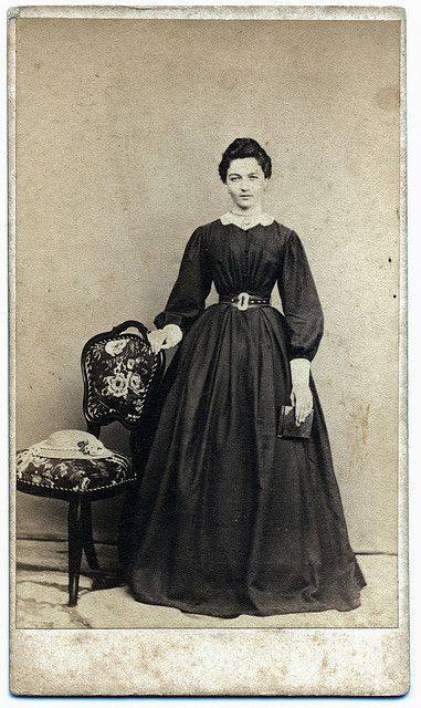 1870s (probably late 1860s as this is without a bustle)