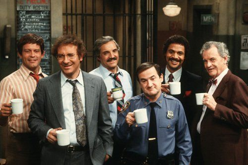 Barney Miller - Ron Carey, Max Gail, Ron Glass, Steve Landesberg, Hal Linden