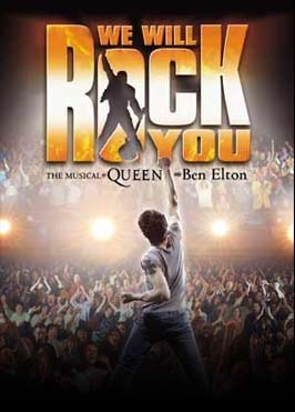 We will rock you, London