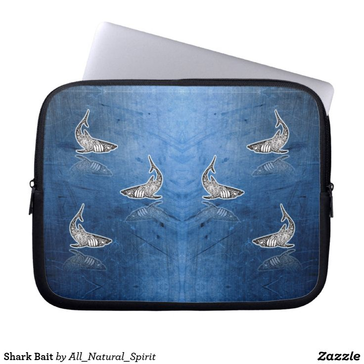 Keep you calm and stay cool with this Shark motif Laptop Sleeve! Available in different size! Make It Yours! See more @ https://www.zazzle.com/z/yn9ev?rf=238562247198752459 #Zazzle #AllNaturalSpirit #Bag #Laptop #Sleeve #Shark #Shopping #Art #Fashion #Style Visit our blog @ allnaturalspirit.wordpress.com
