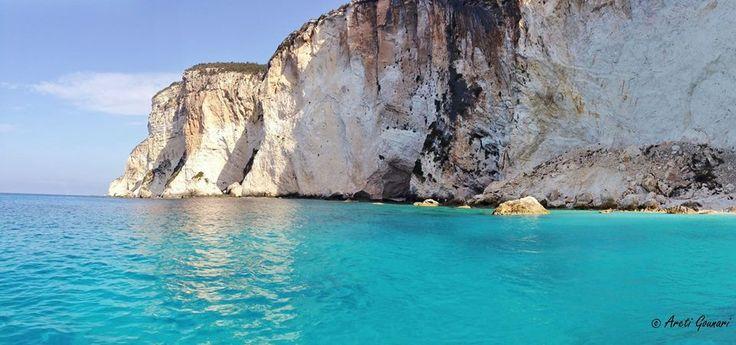 Erimitis cliffs Paxos