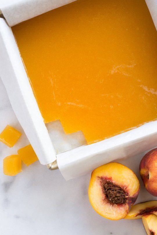 Homemade snacks are awesome, but Peach Rooibos Tea Gummies are the best around! SIMPLE recipe for a snack you won't feel guilty eating. All you need is water, gelatin, peaches, rooibos tea, and honey!