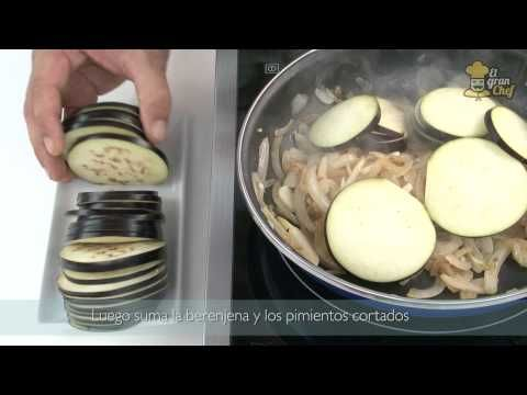 ▶ Receta tradicional de Ratatouille - YouTube