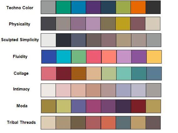 153 best palettes + colour trends images on pinterest