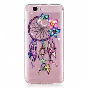 Husa Huawei Nova, Protectie Spate/ Laterale,TPU,Ultraslim, Dreamcatcher and Flowers