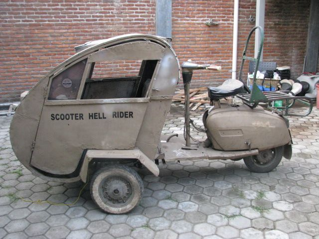 Scooter Hell Rider ..... Ever see one of these?