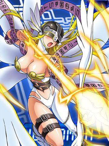 File:Angewomon collectors card2.jpg - Wikimon - The #1 Digimon wiki