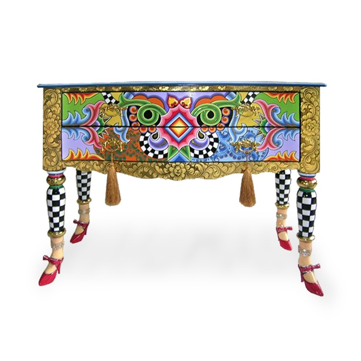 331 best funky handpainted furniture acces images on for Hand painted furniture
