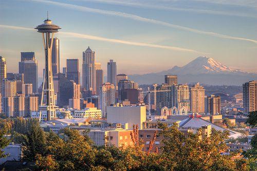 Seattle Washington. My dream come True.
