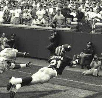 The catch. Michigan football!