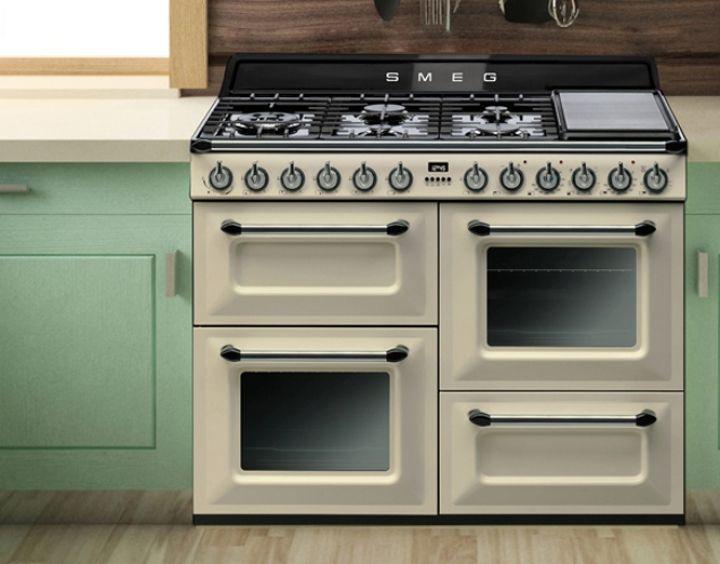 Popular Smeg Freestanding Cooker Cream Freestanding Cookers Appliances Kitchen Appliances