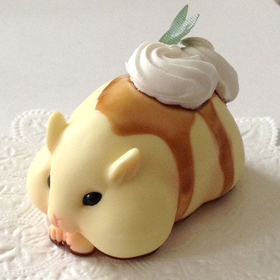 Adorable food looks like hamster