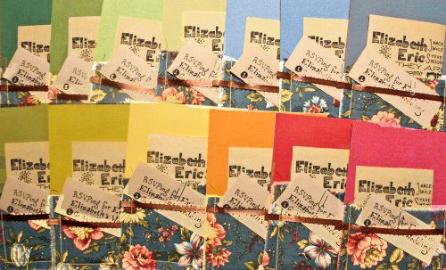 We've gotta figure out how to do this!    How to make wedding invitations with a sewing machine | Offbeat Bride