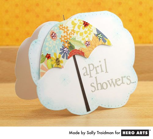 April Showers   By Sally Traidman