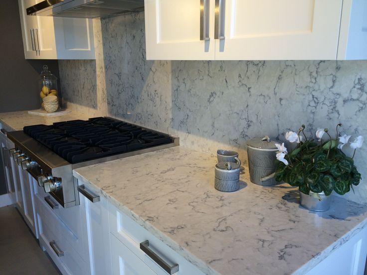 Viatera Quartz Rococo Kitchen In 2019 Countertops