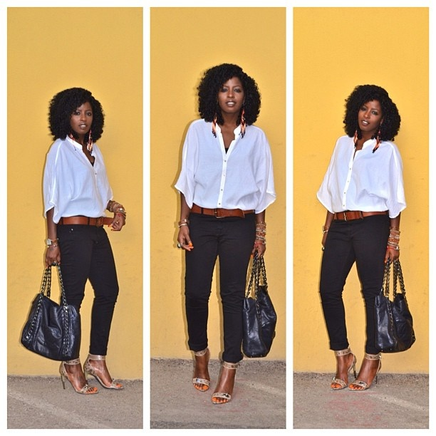 Today's Post: White & Black: Pantry Blog, Fashion, Skinny Jeans, Black And White, Street Styles, Style Pantry, Black Skinnies, Stylepantry Swoon, Awesome Styles