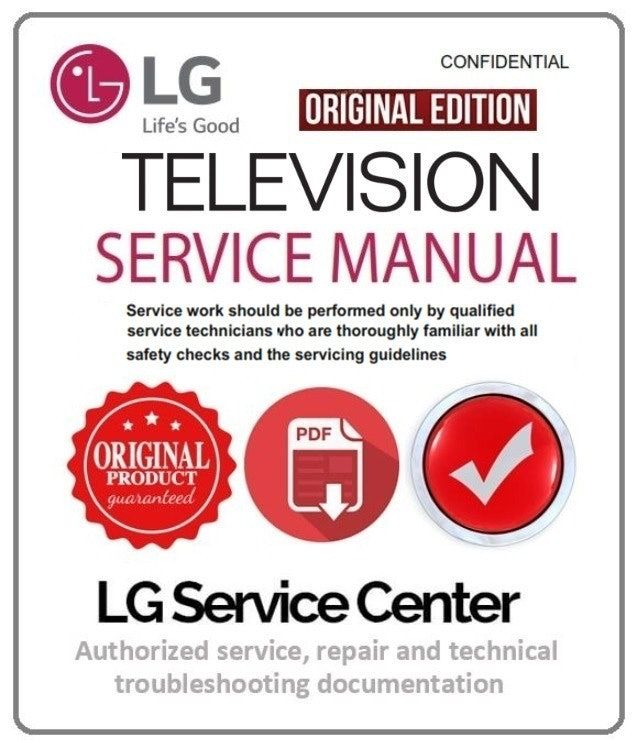 Lg 47ln5750 Uh Tv Service Manual And Technical Troubleshooting Tv Services Manual Electronics Basics