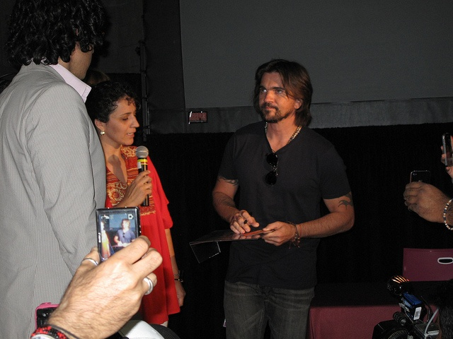 #Juanes greeting fans in the Global Village at the International #AIDS Conference (#AIDS2012) in Washington, DC.