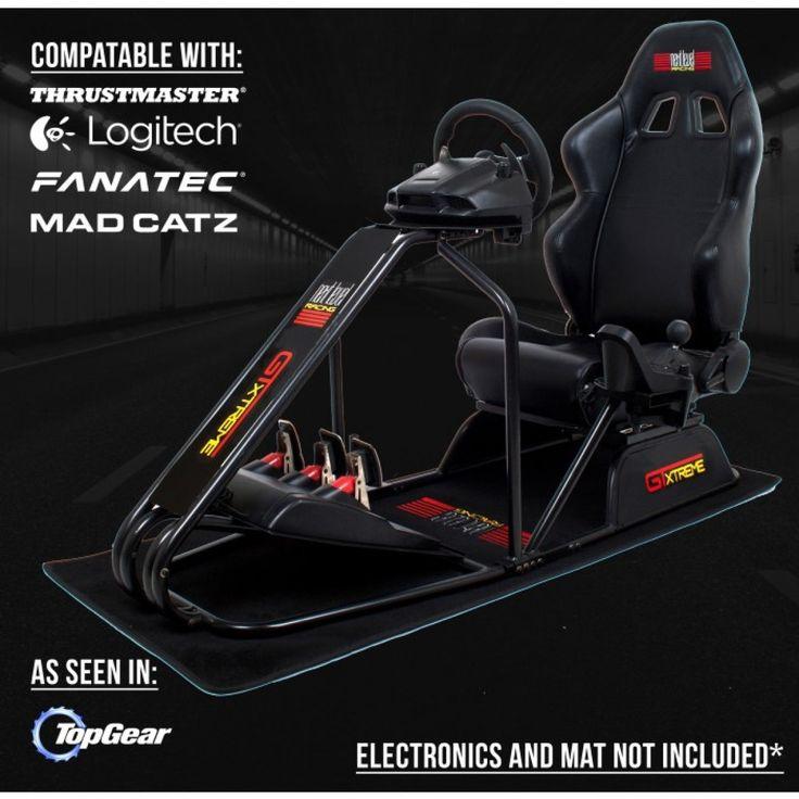 Next level gtxtreme v2 racing simulator cockpit chair
