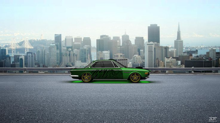 Checkout my tuning #BMW 3.0CSL 1971 at 3DTuning #3dtuning #tuning