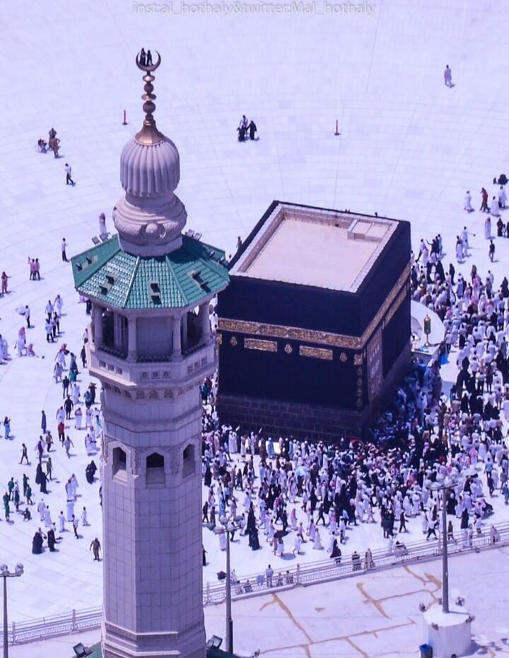 مشهد روحاني للكعبة المشرفة في الحرم المكي Beautiful Mosques Mecca Wallpaper Islamic Pictures