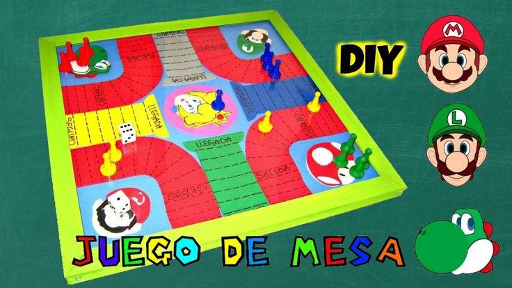 """DIY JUEGO DE MESA DE """"MARIO BROS"""" EN FOAMY  #juegoenfoamy #foami #gomaeva #hazlotumismo #diy #tablerodejuego"""