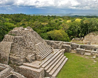 Caracol, Belize (I didn't go to this one, but went to a