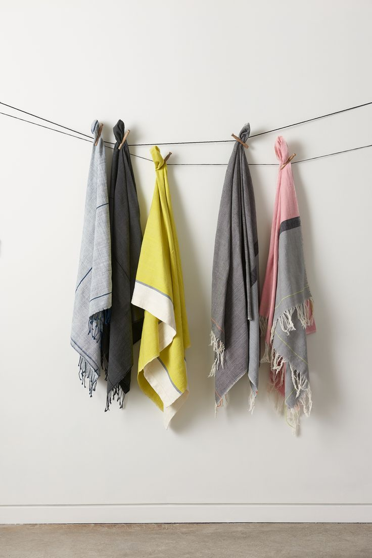 Inspired by ancient weaving traditions of Ethiopia, this contemporary towel collection is entirely handmade from 100% Ethiopian cotton.