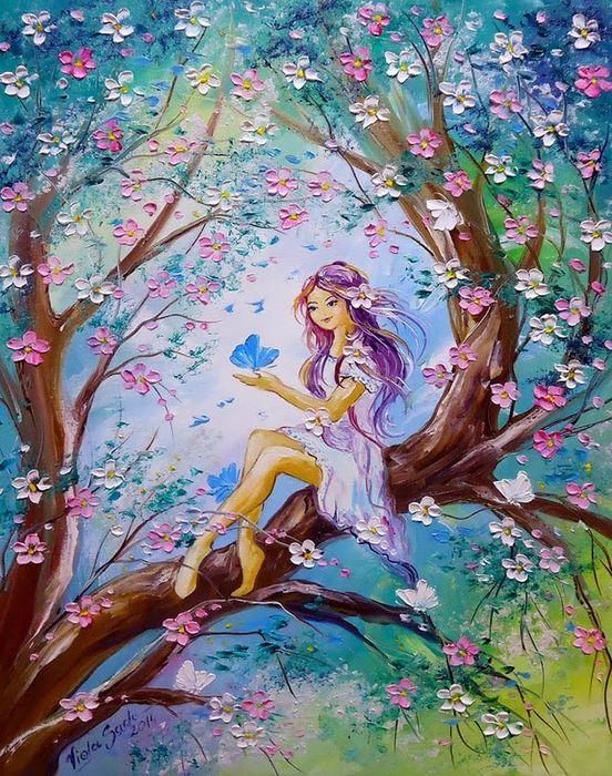 Fairy Tale Art By Viola Sado