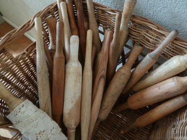 Oude houten spoelen | Brocante | Kind van Holland