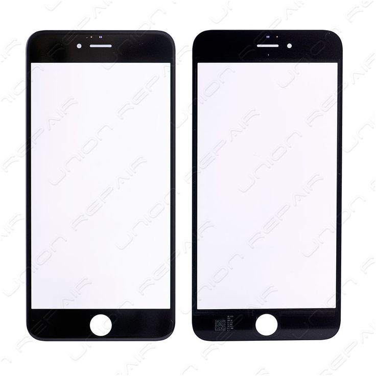 Replacement for iPhone 6S Plus Front Glass - Black    Specifications:  Color: Black  Screen Size: 5.5 inches  Material: Shatter proof glass, oleophobic coating  Compatibility: Apple iPhone 6S Plus    F...