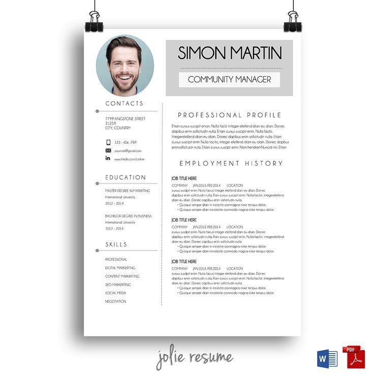 18 best jolie resume images on pinterest