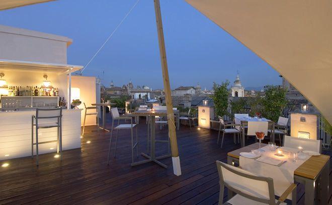 ROME: Saint George Hotel Rooftop Bar