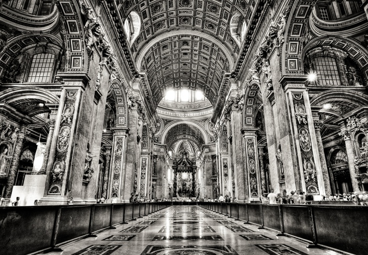 Cathedral Black n White