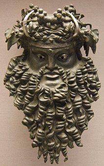 Viking, Bronz, Hlava, Muzeum