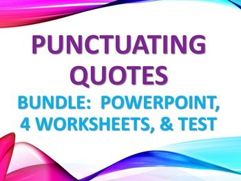 Direct Quotes 8 Best Grammar Quotation Marks Imagesyep Definitely Maybeon .