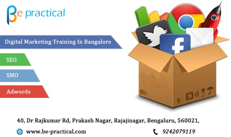 Be-practical institute for digital marketing carry off to the real world of SEO-SEM-SMO-PPC Training with real time projects with certified experts, 100% placement assistance