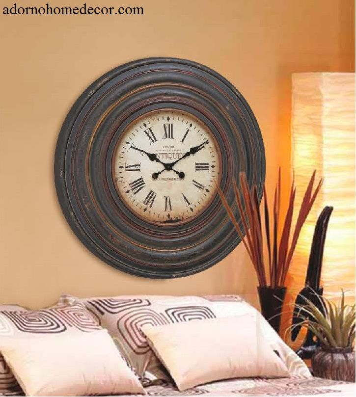 Good This Clock Is Designed In A Vintage Inspired Pattern That Is Influenced By  The Iconic Station