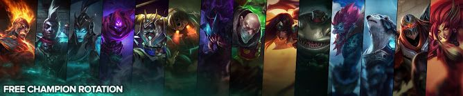 cool Free Champion Rotation, Week of October 3rd